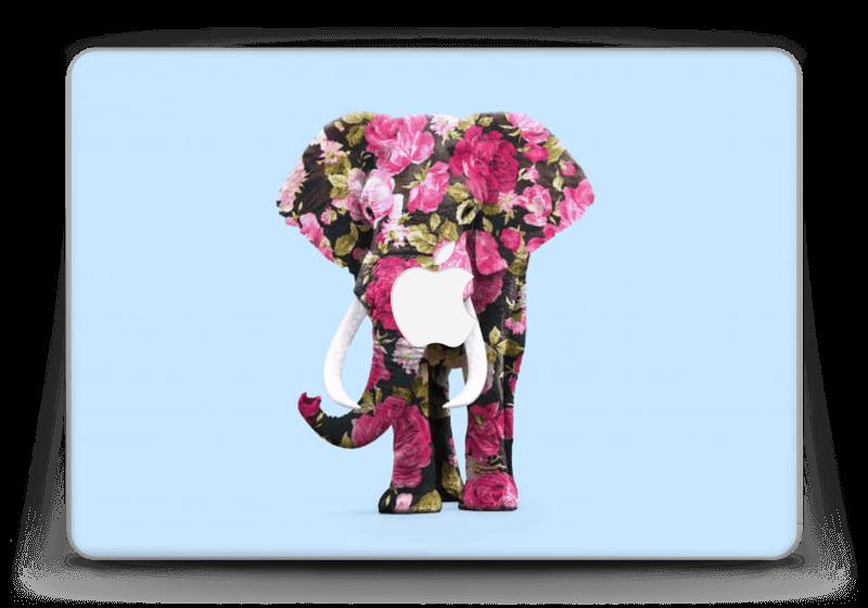 """Fleurs d'éléphant Skin MacBook Pro Retina 13"""" 2015"""