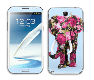 Elefantti tarrakuori Galaxy Note 2