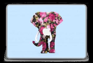 "Floral Elephant  Skin MacBook Pro 15"" -2015"