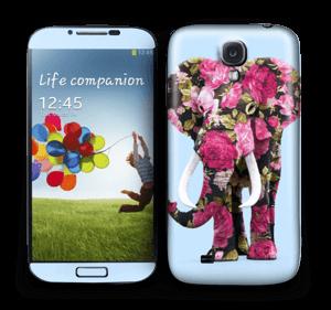 Floral Elephant  Skin Galaxy S4