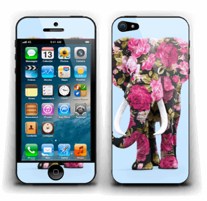 Floral Elephant  Skin IPhone 5