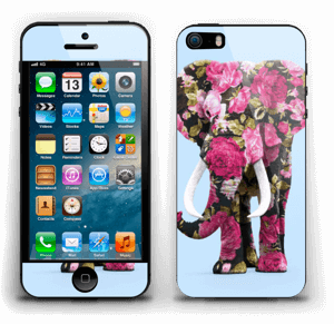 Floral Elephant  Skin IPhone 5s