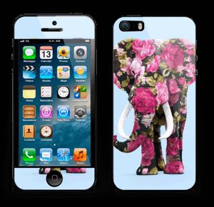 Elefante de Flores vinilo