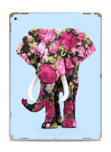 Floral Elephant  Skin IPad Pro 12.9
