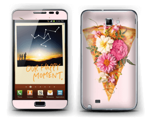 Floral Pizza Skin Galaxy Note