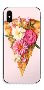 Kukkaispizza tarrakuori IPhone X