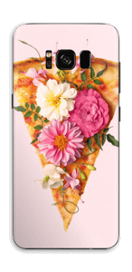 Pizza med blomster Skin Galaxy S8