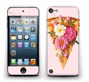 Floral Pizza  Skin IPod Touch 5th Gen