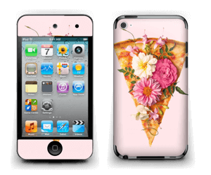 Floral Pizza  Skin IPod Touch 4th Gen
