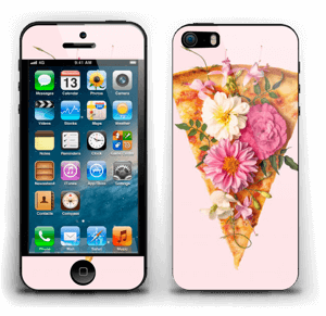 Floral Pizza Skin IPhone 5s