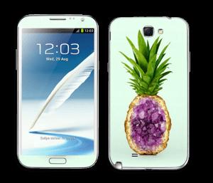 Timanttiananas tarrakuori Galaxy Note 2