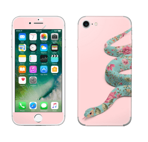 Orm i blomster Skin IPhone 7