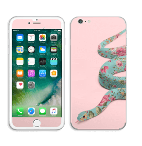 Orm i blomster Skin IPhone 6 Plus