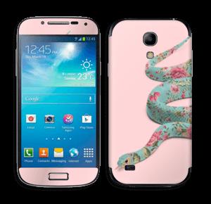 Orm i blomster Skin Galaxy S4 Mini