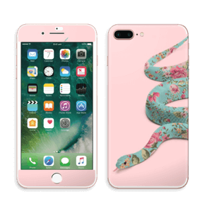 Orm i blomster Skin IPhone 7 Plus