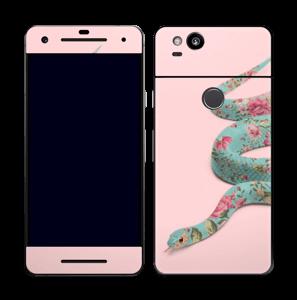 Orm i blomster Skin Pixel 2