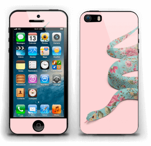 Orm i blomster Skin IPhone 5s