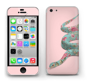 Orm i blomster Skin IPhone 5c