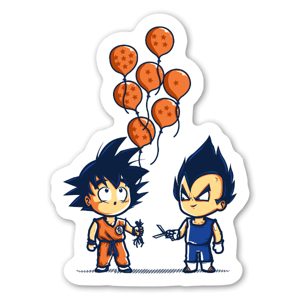 Crystal Balloons sticker