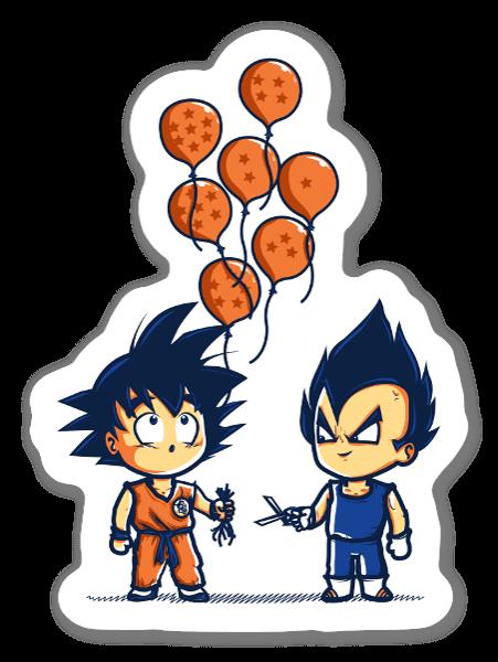 Crystal Balloons  sticker