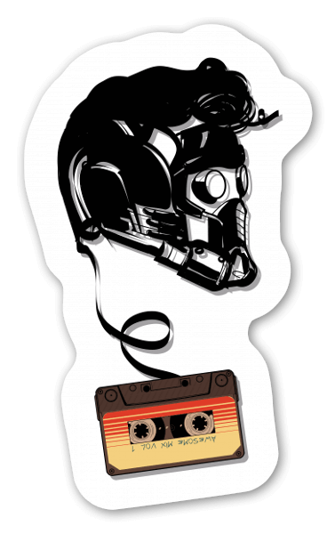Awesome Mixtape  sticker