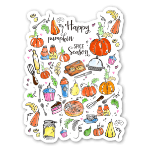 Happy Pumpkin Spice sticker