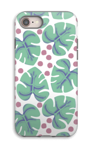 Monstera  deksel IPhone 8 tough