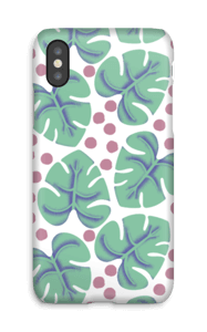 Monstera case IPhone X