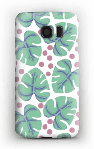 Monstera case Galaxy S6