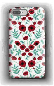 Pavots rouges Coque  IPhone 7 Plus tough