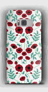 Mohnblumen Handyhülle Galaxy S8