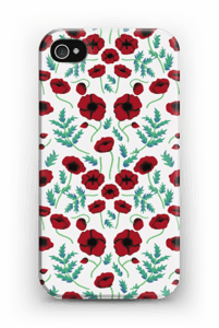 Poppy case IPhone 4/4s