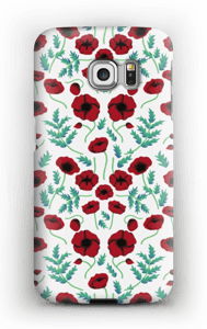 Pavots rouges Coque  Galaxy S6 Edge
