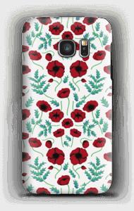 Unikko kuoret Galaxy S7