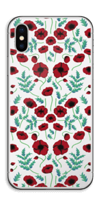 Amapola vinilo  IPhone X