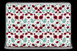 Mohnblumen Skin Laptop 15.6
