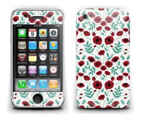 Pavots rouges Skin IPhone 3G/3GS