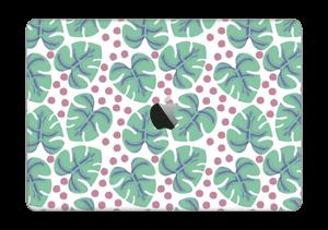 """Feuilles Vertes Skin MacBook Pro 13"""" 2016-"""