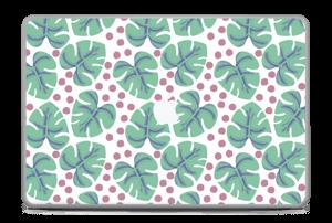 """Feuilles Vertes Skin MacBook Pro 17"""" -2015"""