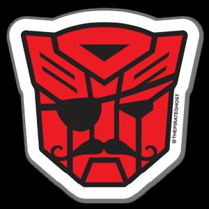 PirateGhost Autobot sticker