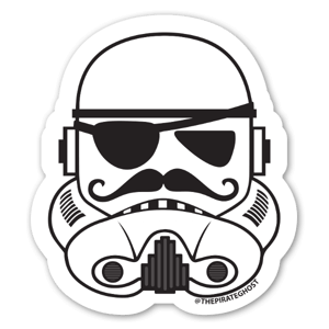 PirateGhost Trooper sticker