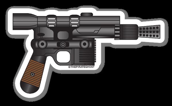 PirateGhost Blaster  sticker