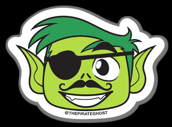 Beastboy sticker