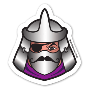 PirateGhost ShredHead sticker