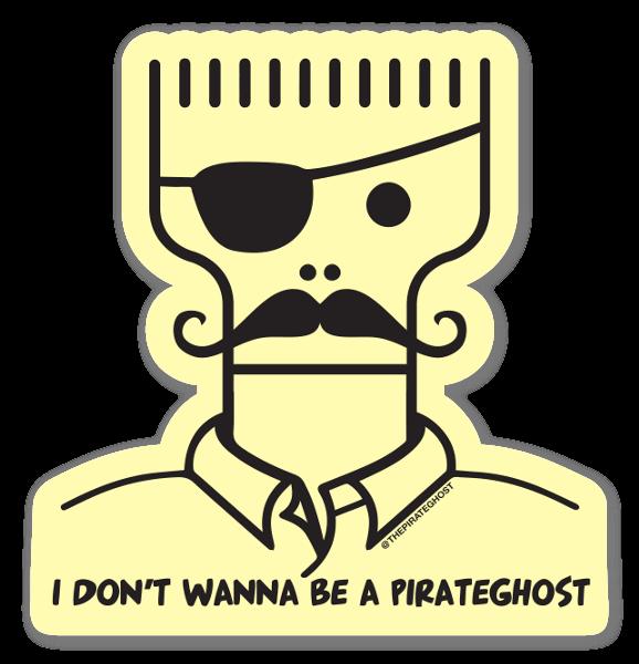 PirateGhostage  sticker