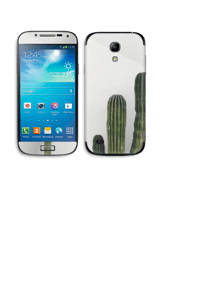 Mexican Cactus Skin Galaxy S4 Mini