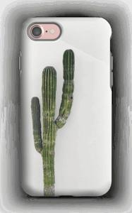De single cactus hoesje IPhone 7 tough