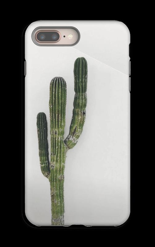 Yksinäinen kaktus kuoret IPhone 8 Plus tough
