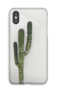 The Single Cactus  case IPhone X