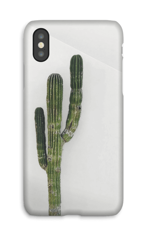 The Single Cactus deksel IPhone X